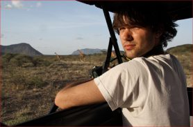 Alex Verbeek in Kenia