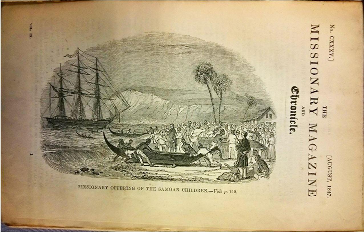 Missionary Magazine 1847